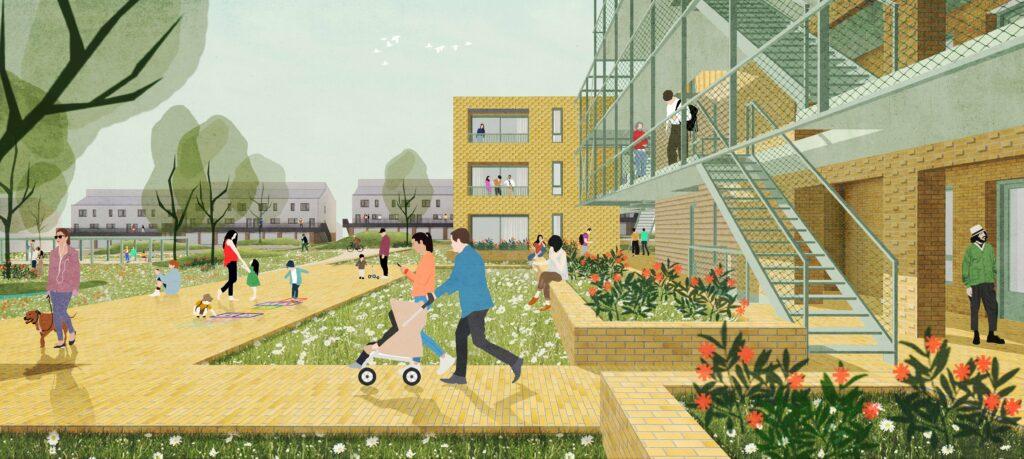 2023KER-De_Kerselaar-sociale_woningen_Ieper-LAVA-Architecten